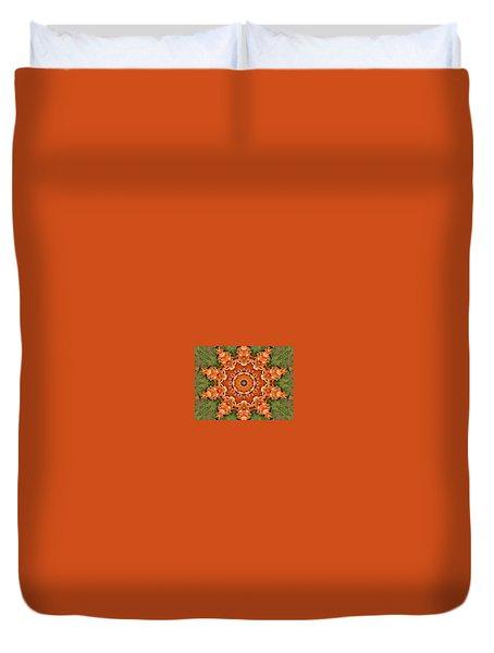 Pumpkins Galore Duvet Cover