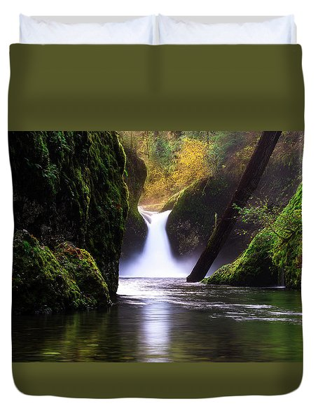 Punch Bowl  Duvet Cover