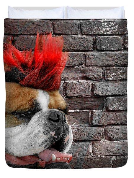 Punk Bully Duvet Cover
