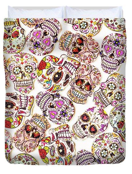 Punk Rock Pattern Duvet Cover