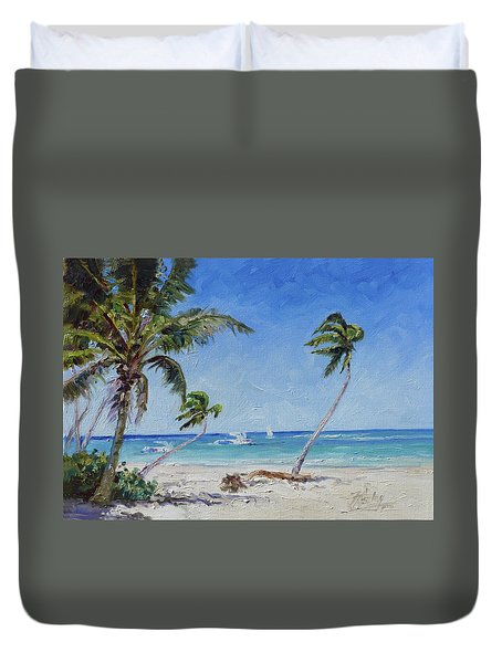 Punta Cana Bavaro - Sea Beach 14 Duvet Cover
