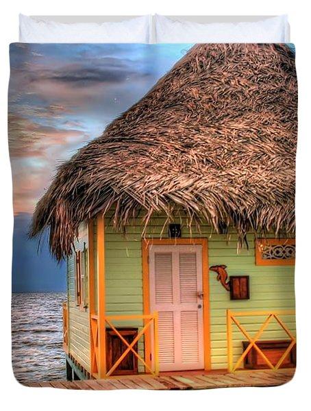 Punta Caracol Duvet Cover by Dolly Sanchez