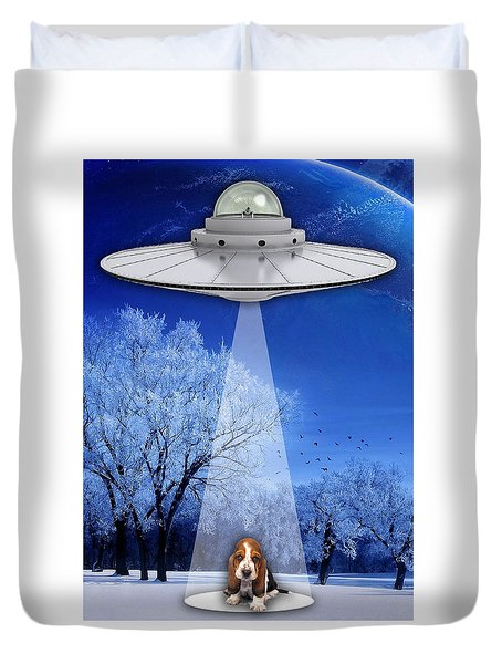 Puppy Love Duvet Cover by Marvin Blaine