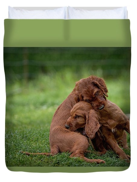 Puppy Love Duvet Cover