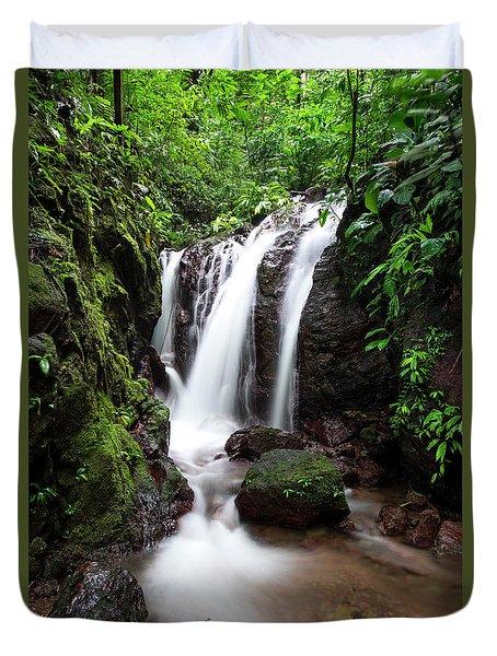 Pura Vida Waterfall Duvet Cover
