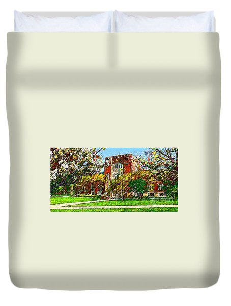 Purdue University Duvet Cover