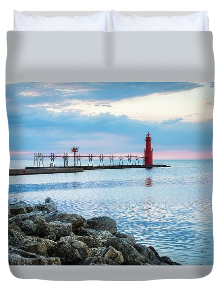 Duvet Cover featuring the photograph Pure Algoma by Bill Pevlor