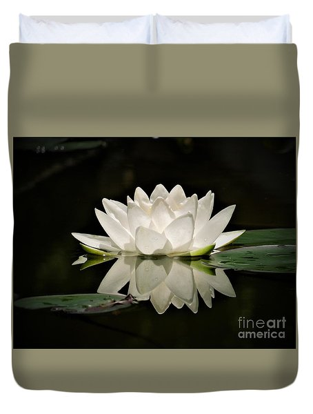 Pure And White Duvet Cover