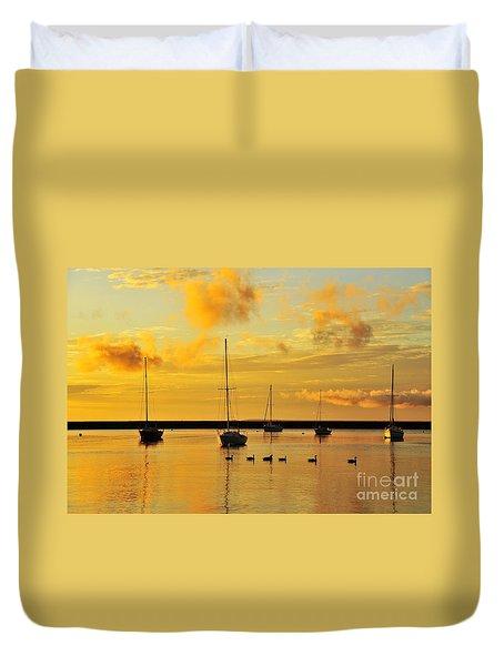 Pure Michigan Gold Duvet Cover