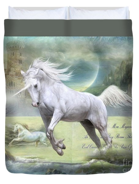 Pure Of Heart Duvet Cover