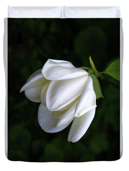 Purity In White Duvet Cover