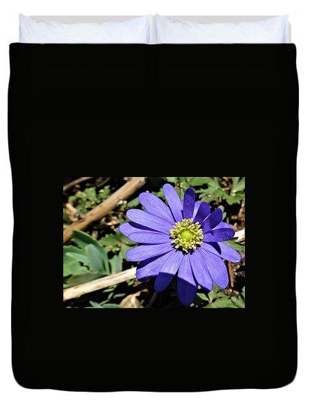 Purple Anemone Duvet Cover
