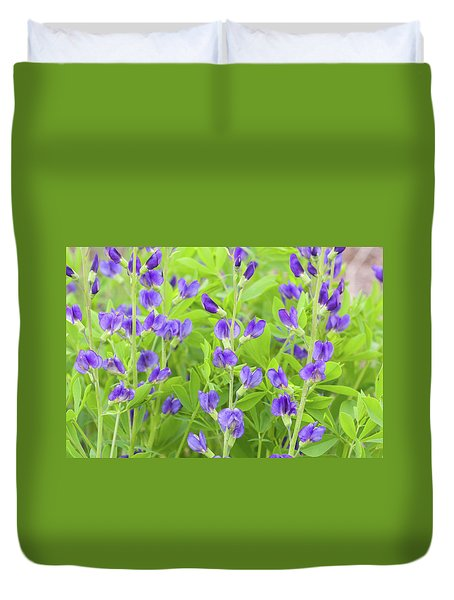 Purple Beauties Duvet Cover