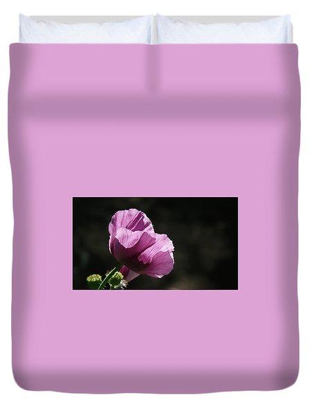 Purple Blessing Duvet Cover