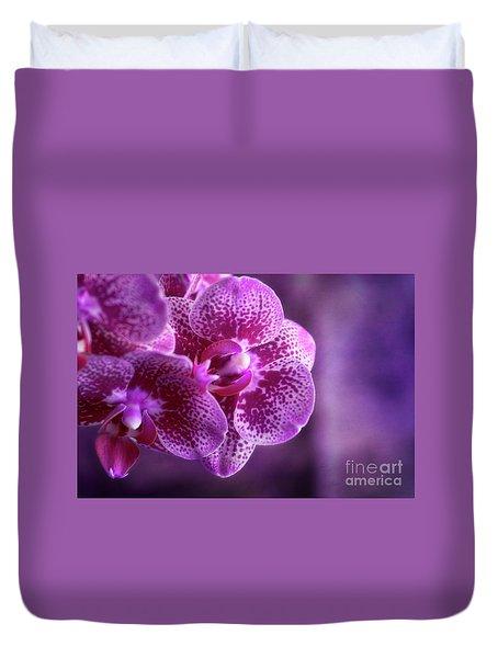 Purple Bunch Duvet Cover
