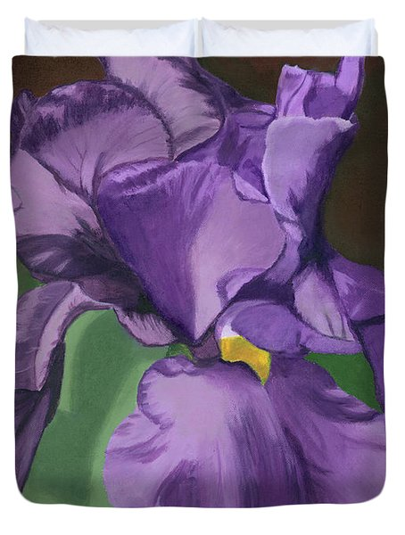 Purple Fantasy Duvet Cover