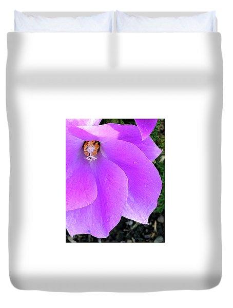 Purple Flower 1 Duvet Cover