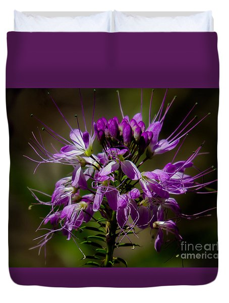 Purple Flower 1 Duvet Cover