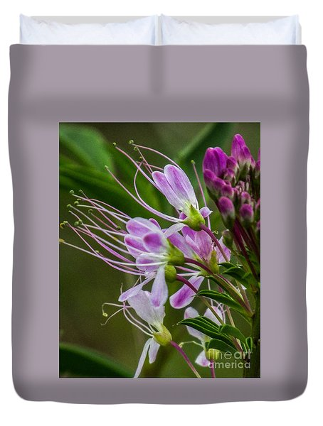 Purple Flower 6 Duvet Cover