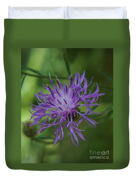 Purple Flower 8 Duvet Cover