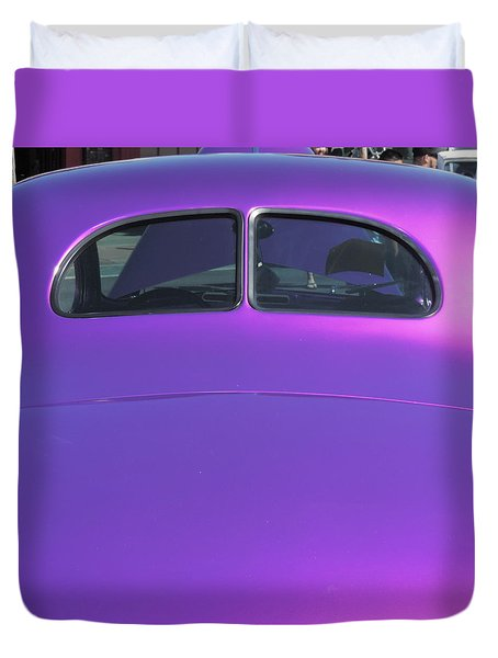 Purple Forty Duvet Cover