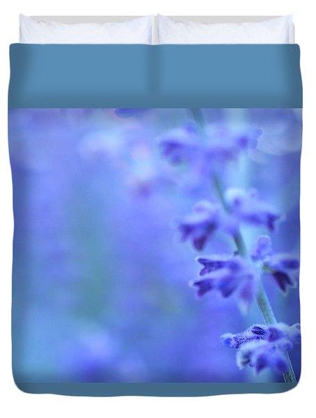 Purple Garden Duvet Cover