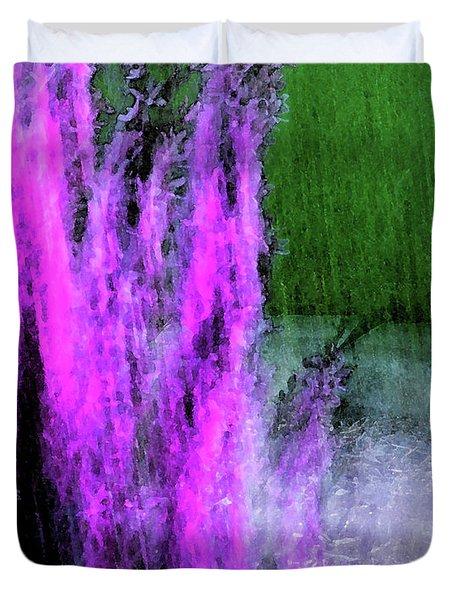 Purple Haze Duvet Cover
