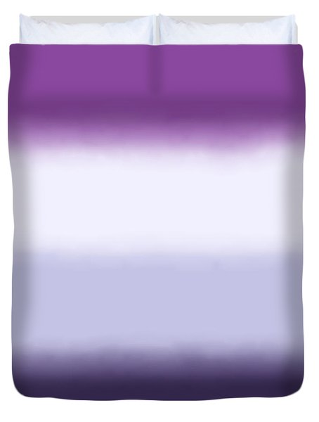 Purple Haze - Sq Block Duvet Cover