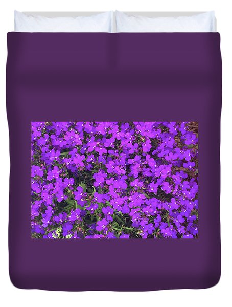 Purple Haze Duvet Cover