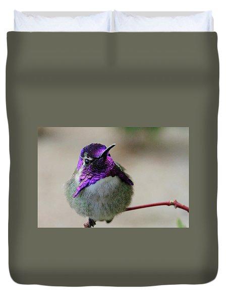 Purple Head Duvet Cover