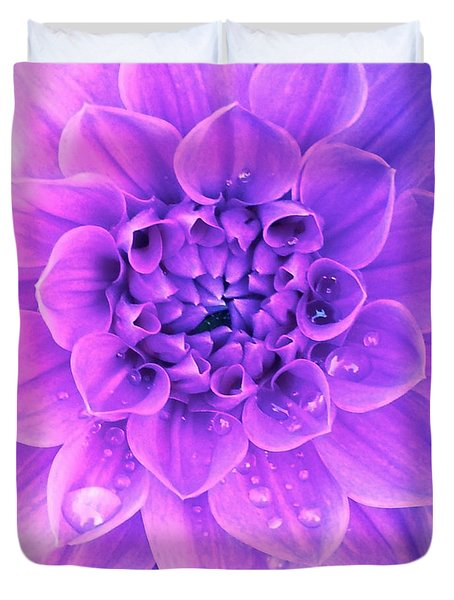 Purple Too Duvet Cover
