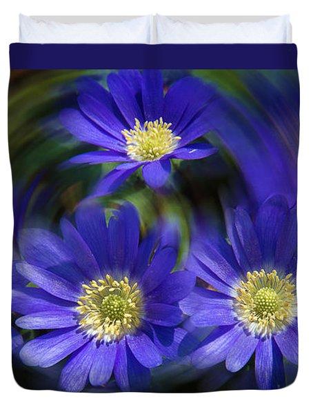 Purple In Nature Duvet Cover
