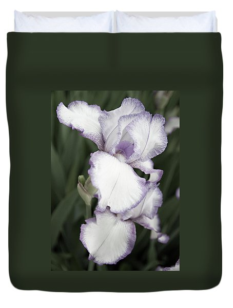Purple Is Passion Duvet Cover by Sherry Hallemeier