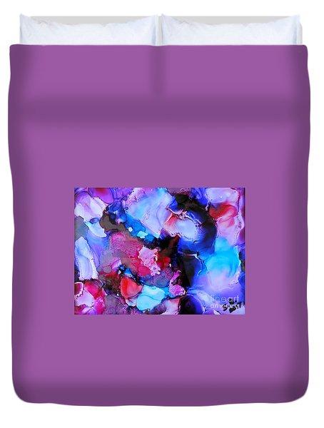 Purple Magic Duvet Cover