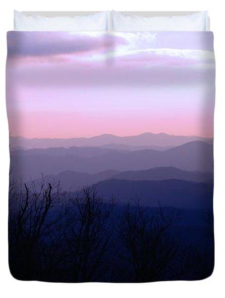 Purple Mountain Majesties Duvet Cover
