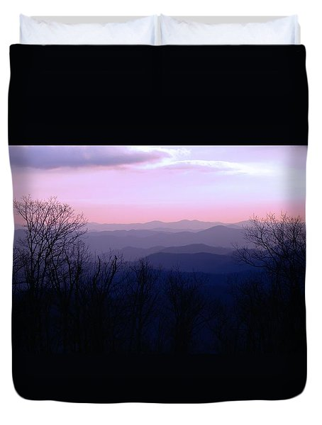 Purple Mountain Majesties Duvet Cover