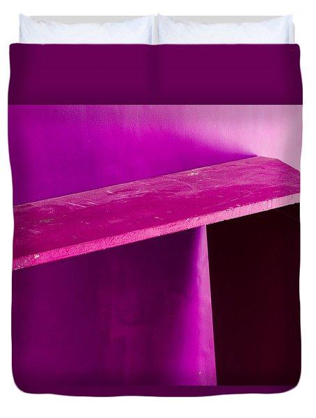 Duvet Cover featuring the photograph Purple Passion by Prakash Ghai