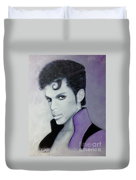 Purple Prince Duvet Cover
