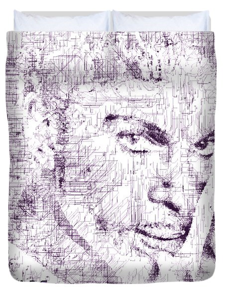Purple Rain By Prince Duvet Cover