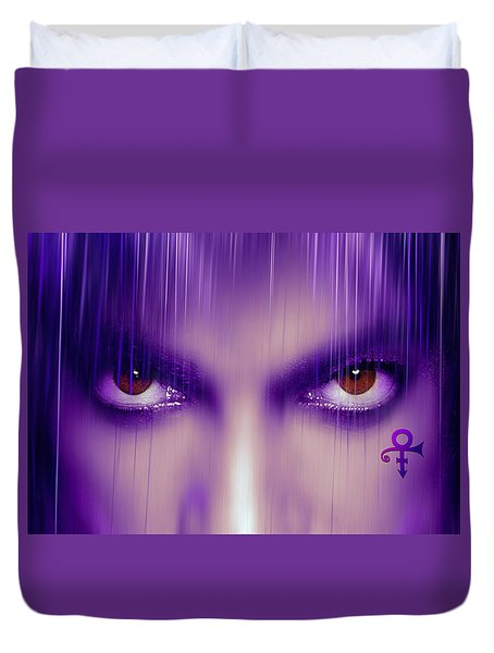 Purple Rain Purple Rain Duvet Cover