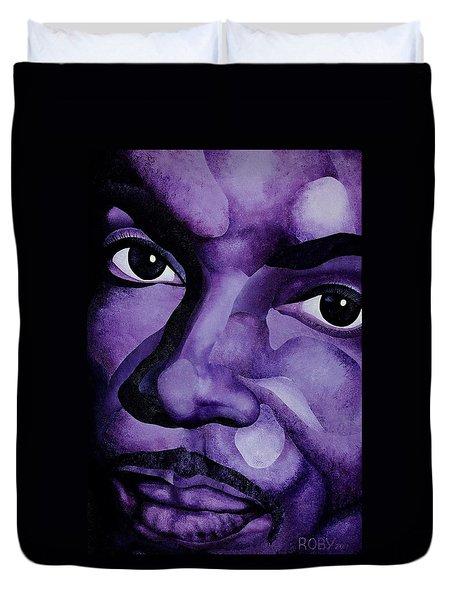 Purple Reign Duvet Cover