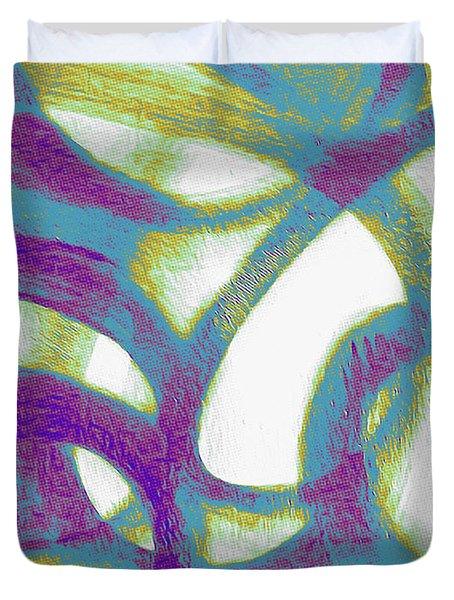 Purple Soul Duvet Cover