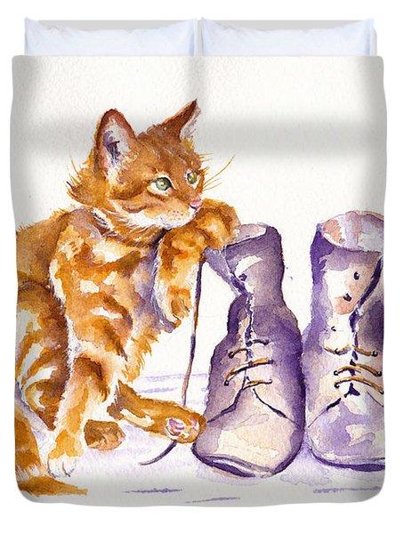 Puss 'n Boots Duvet Cover