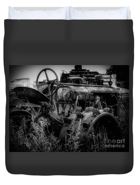 Put Out To Pasture  Duvet Cover by JRP Photography