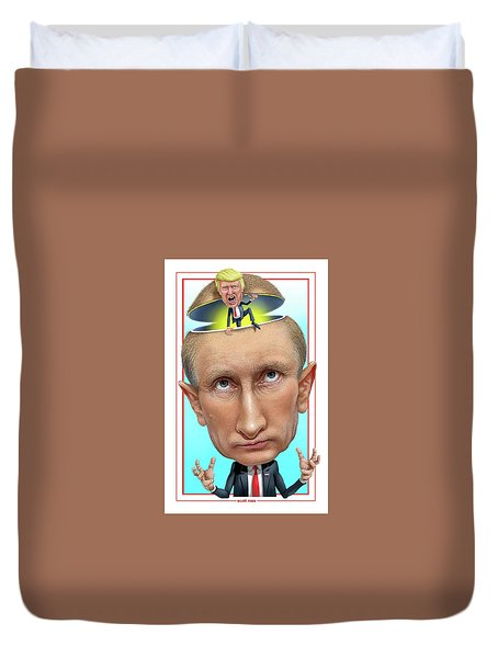 Putin 2016 Duvet Cover