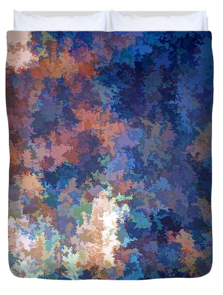 Puzzled Duvet Cover