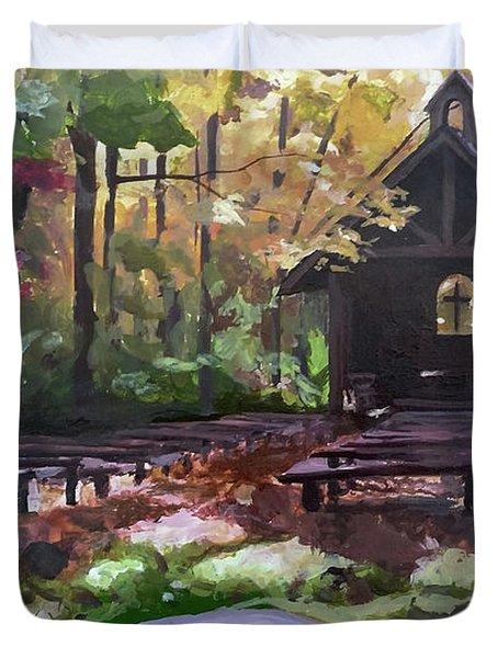 Pvm Outdoor Chapel Duvet Cover