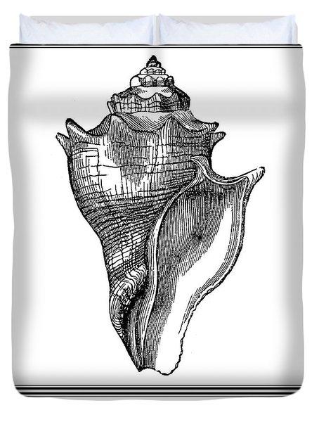 Pyrula Shell Duvet Cover