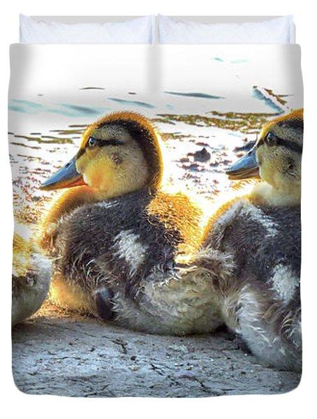 Quacklings Duvet Cover