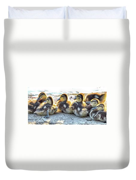 Quacklings Duvet Cover